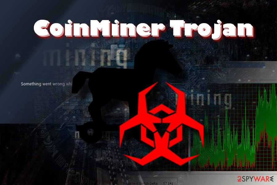 CoinMiner Trojan virus