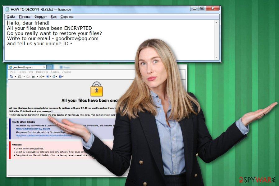 Colorit ransomware virus