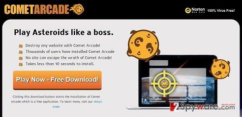 Comet Arcade virus snapshot