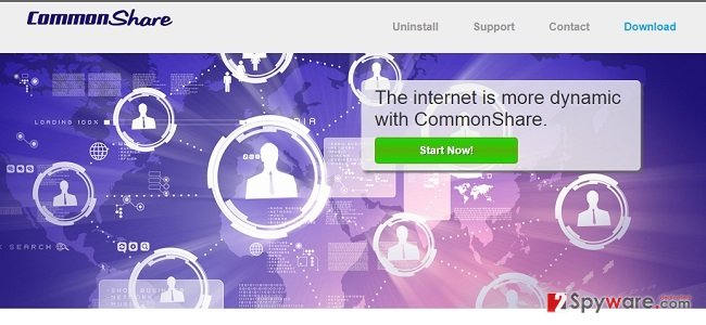 CommonShare ads and CommonShare deals snapshot