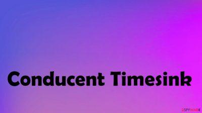 Conducent Timesink