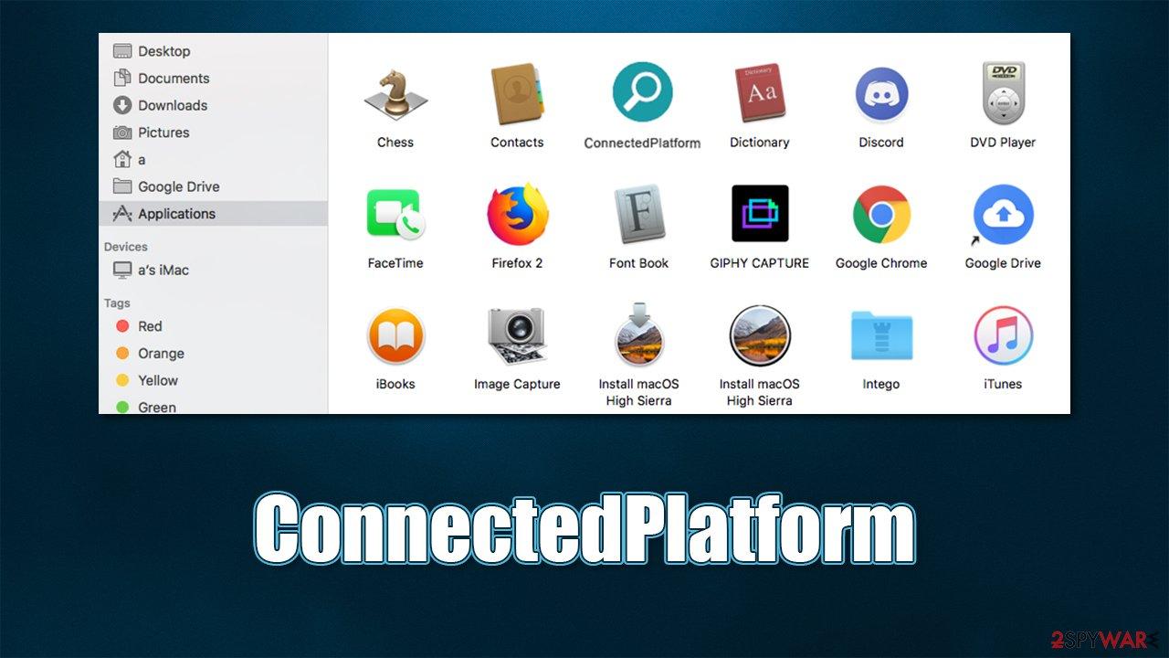 ConnectedPlatform Mac virus