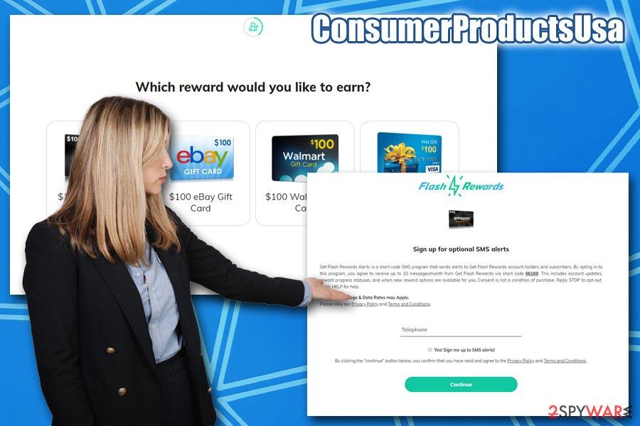 ConsumerProductsUsa scam
