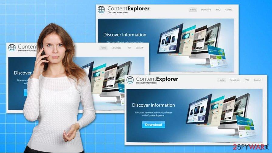 Content Explorer adware