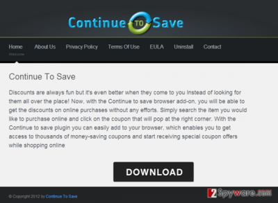 An image of the ContinueToSave