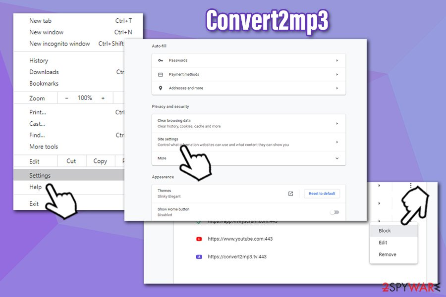 Convert2mp3 notifications