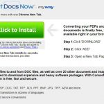ConvertDocsNow Toolbar virus