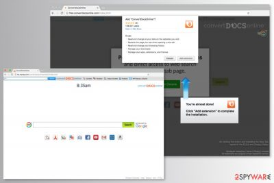 Picture of ConvertDocsOnline Toolbar