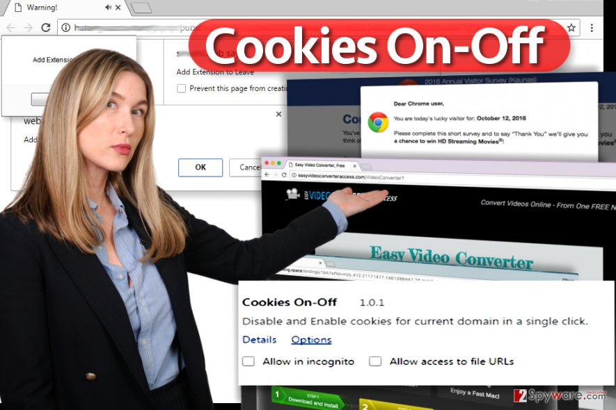 Cookies On-Off extension virus