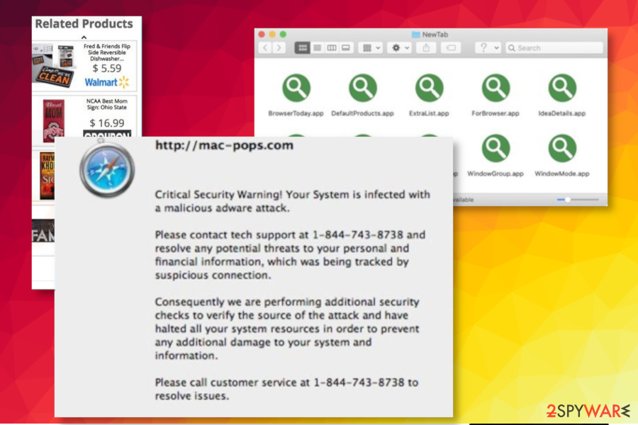 Cool New Tab Theme Mac virus