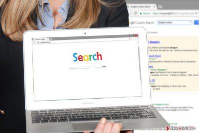 Illustration of CoolSearch.info virus
