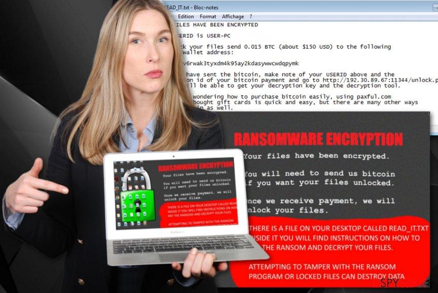 Coom ransomware virus