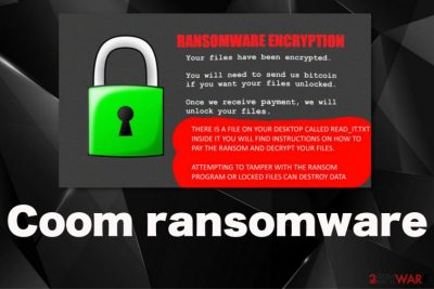 Coom ransomware