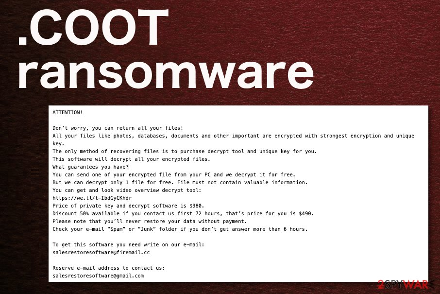COOT ransomware