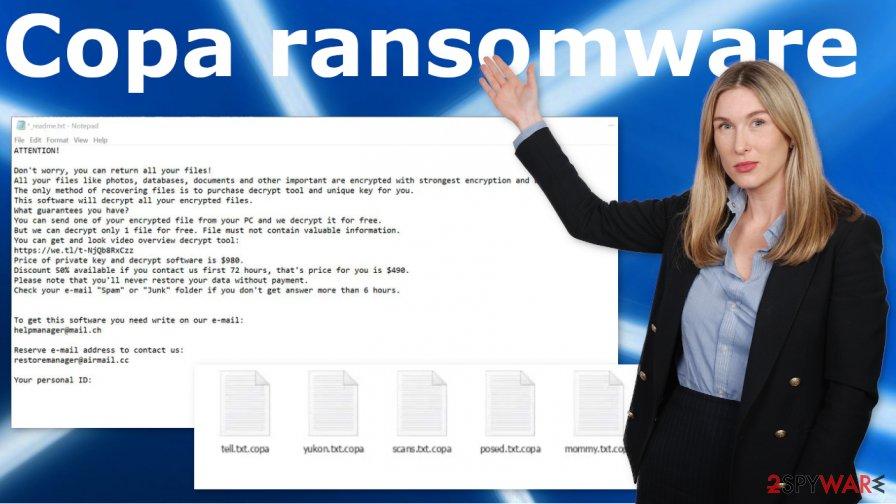 Copa ransomware virus