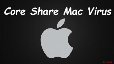 Core Share Mac Virus