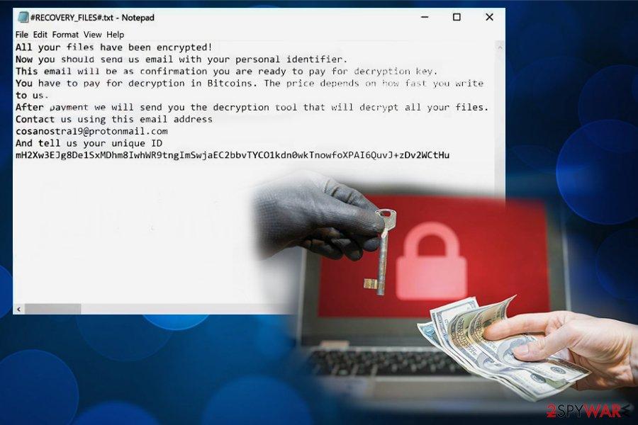 Cosanostra ransomware