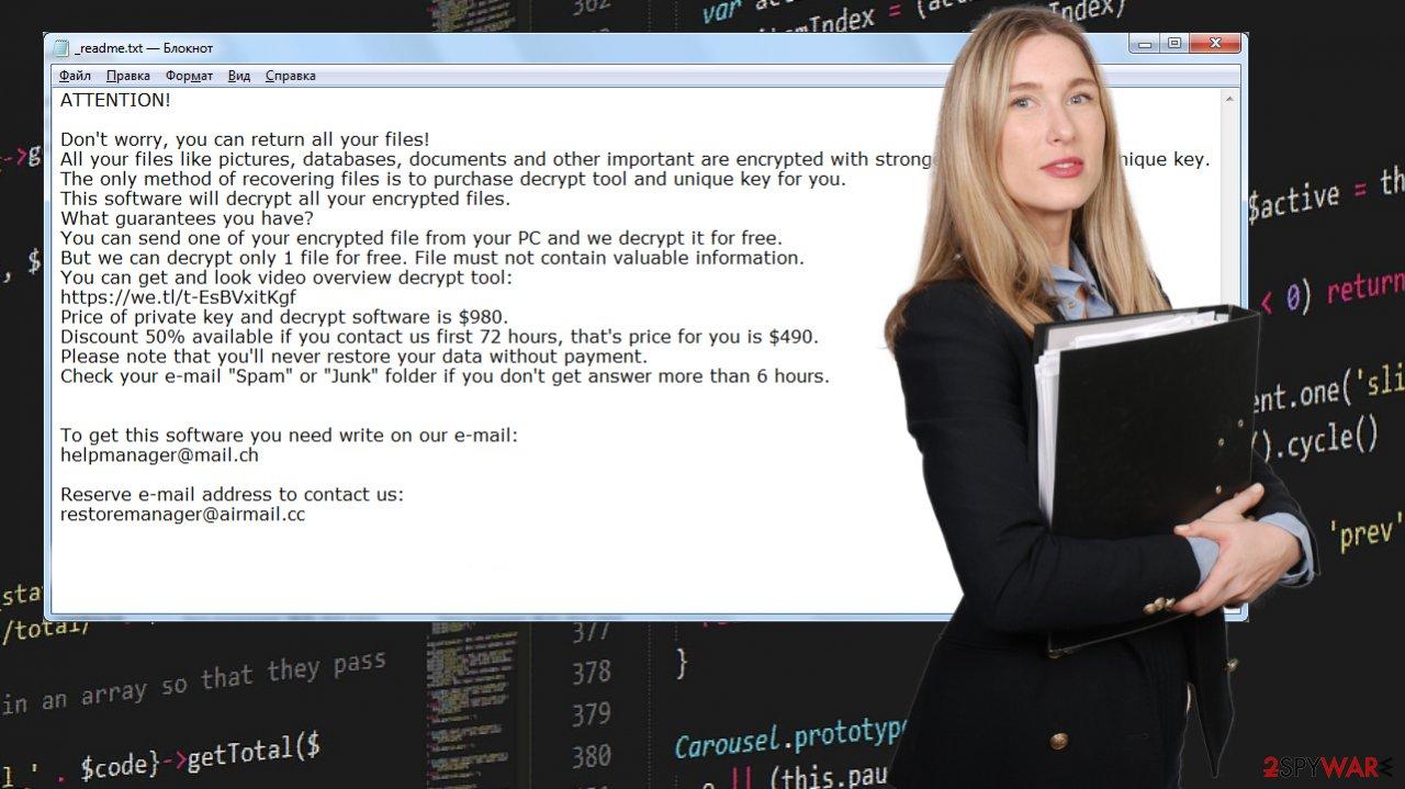 Cosd ransomware virus