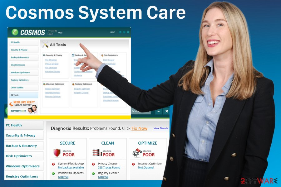 Cosmos System Care adware