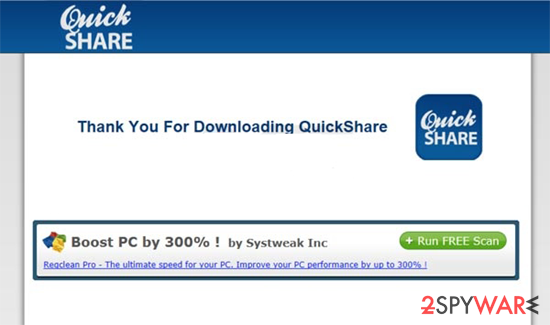 Coupons by QuickShare snapshot