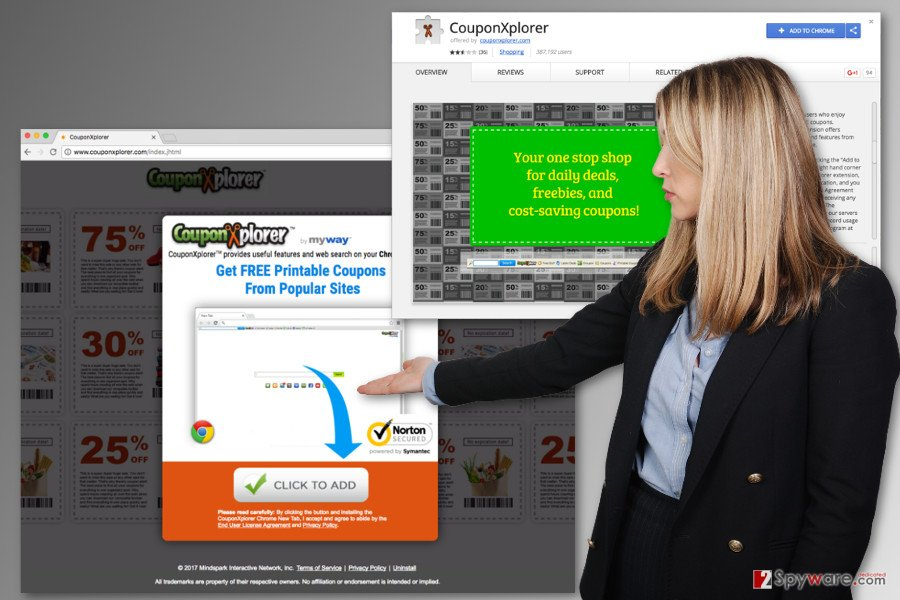 The image of CouponXplorer Toolbar