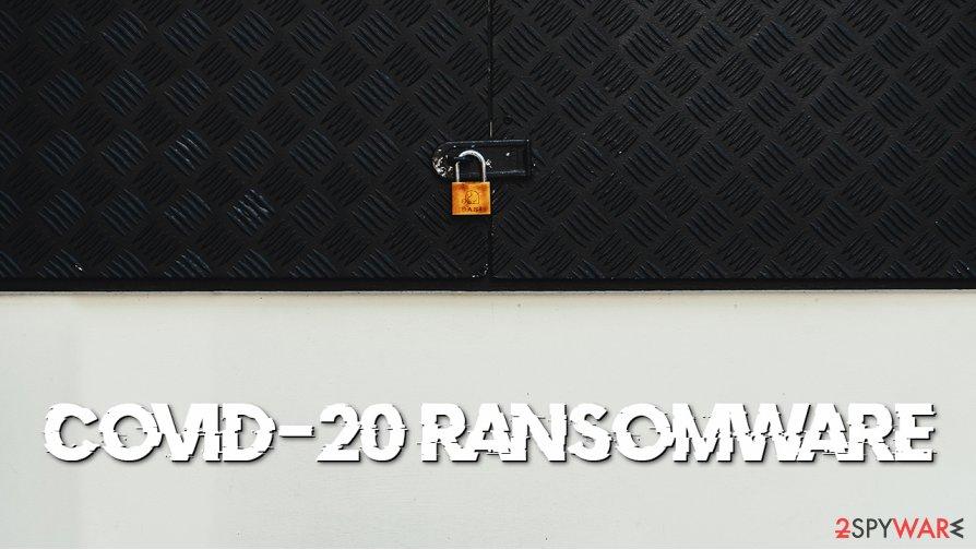 Covid-20 ransomware