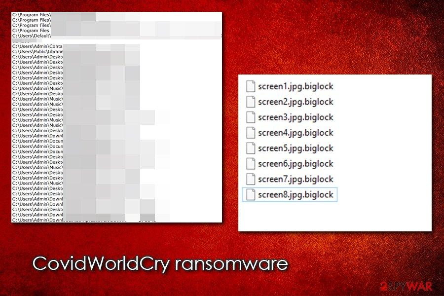 CovidWorldCry virus