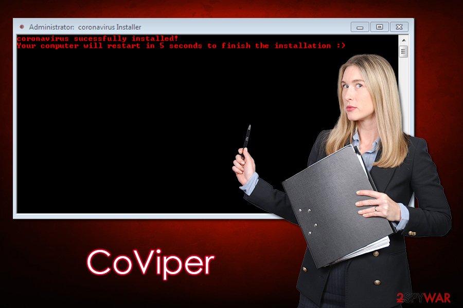 CoViper virus