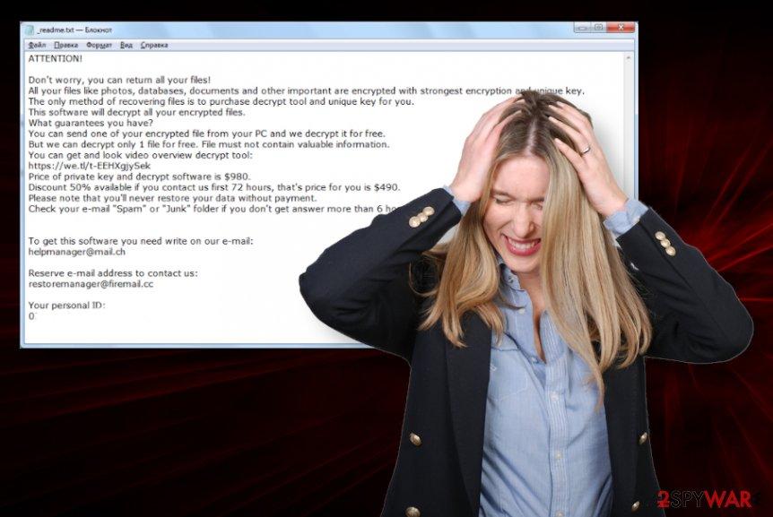 Covm ransomware virus