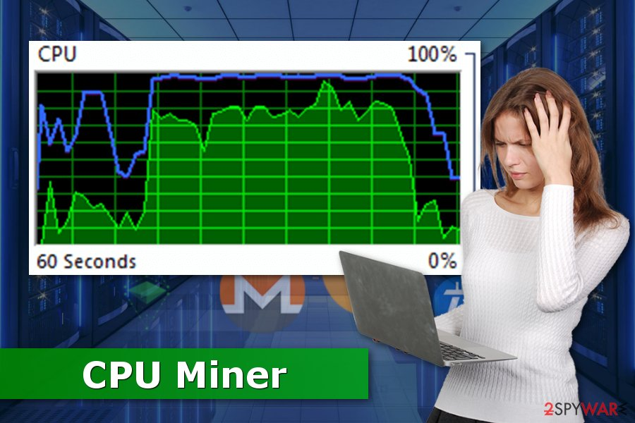 The picture of CPU Miner