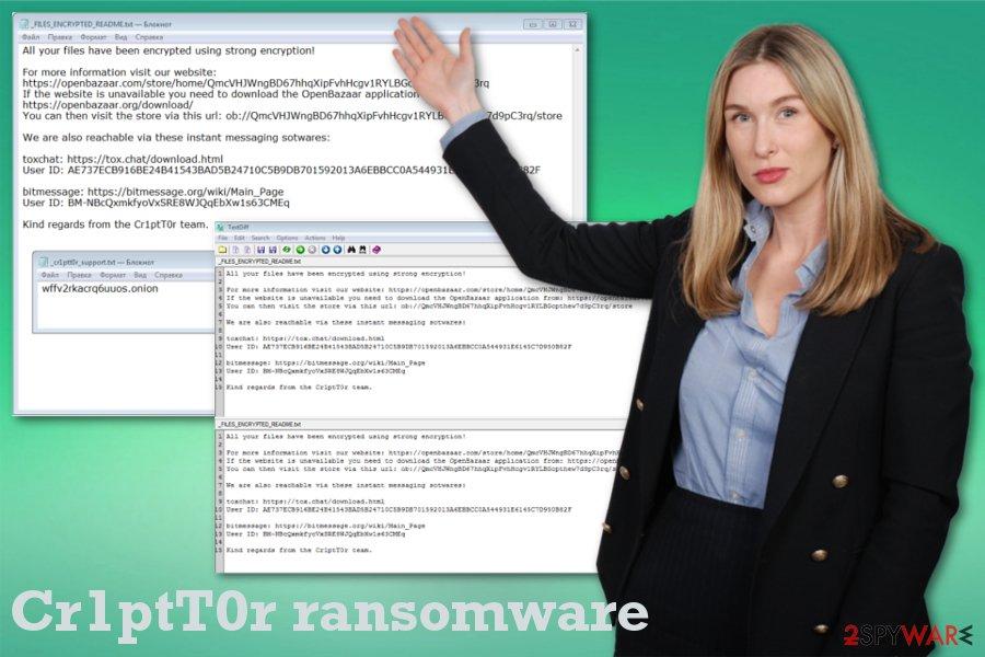Cr1ptT0r ransomware