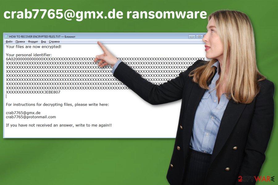 crab7765@gmx.de ransomware