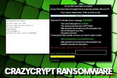 CrazyCrypt ransomware