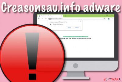 Creasonsau.info adware