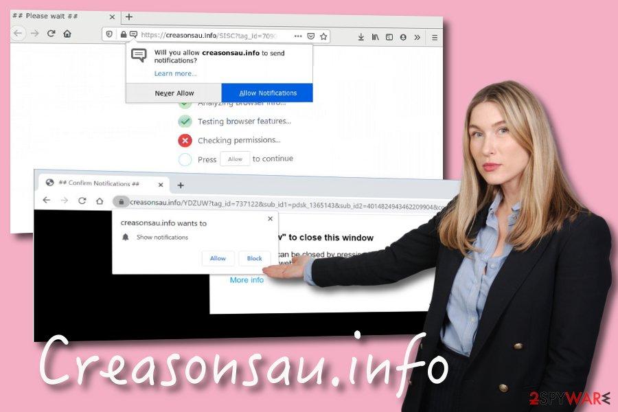 Creasonsau.info PUP