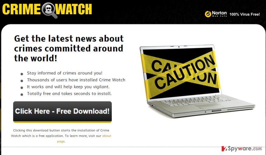 Ads by Crime Watch snapshot