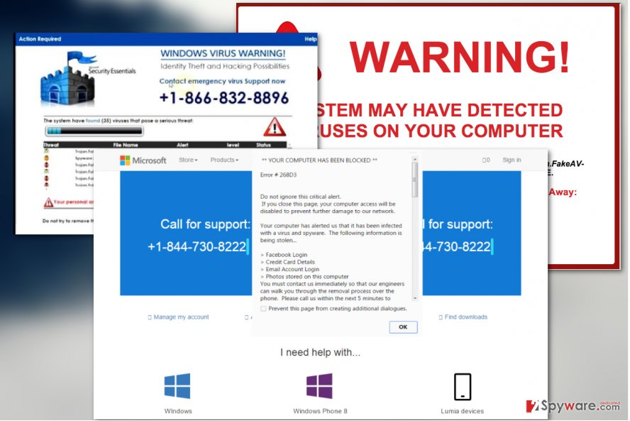 "Remove ""Critical Alert From Microsoft"" scam (Removal"
