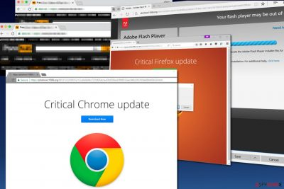 Critical Chrome Update malware
