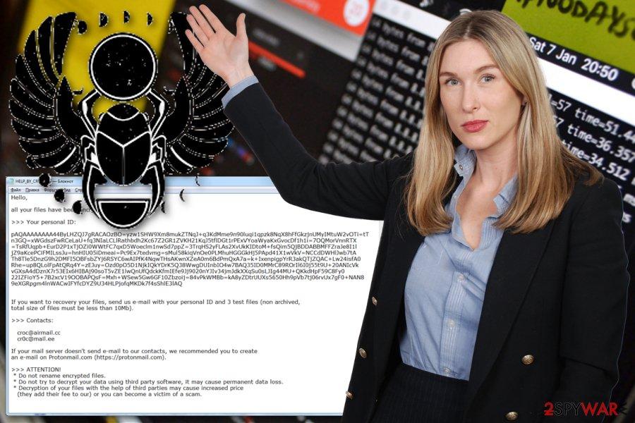 Croc ransomware virus