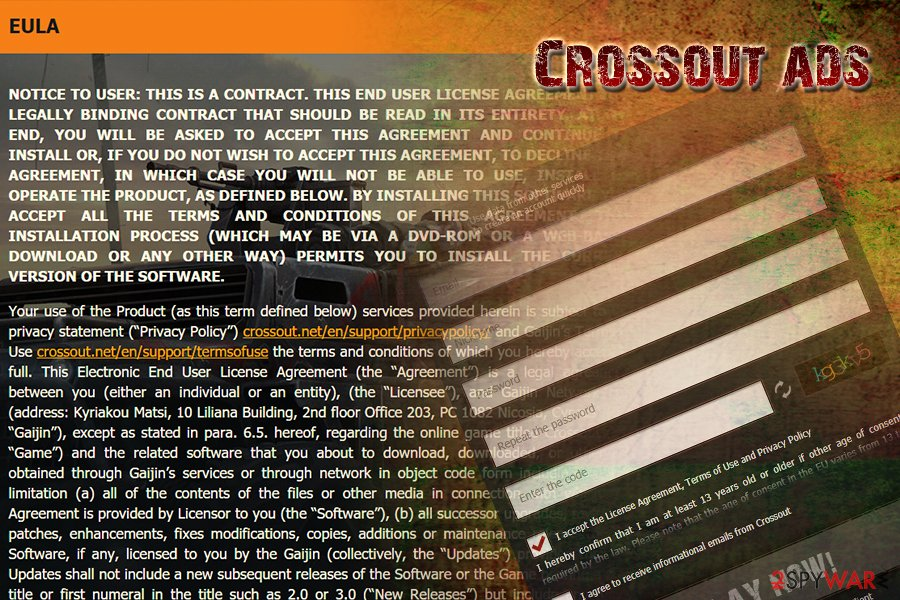 Crossout MMO virus