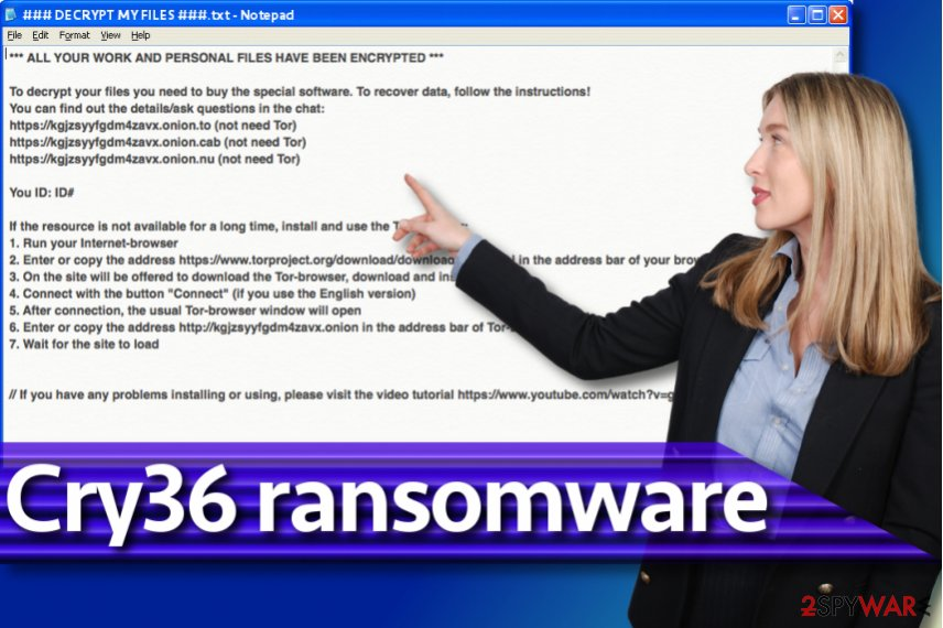 Cry36 ransomware virus