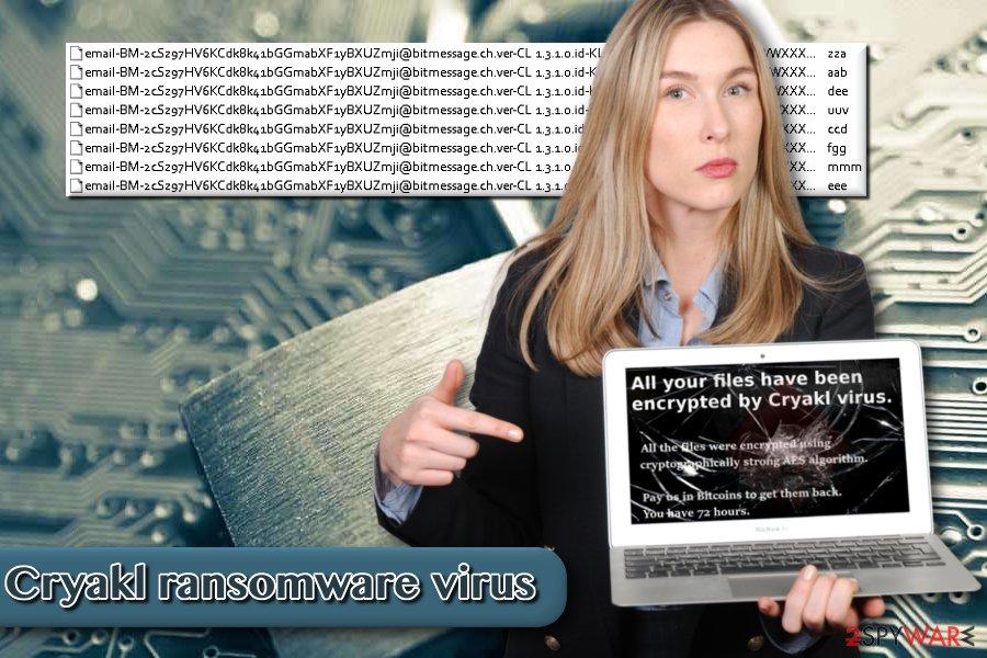 Image of Cryakl ransomware