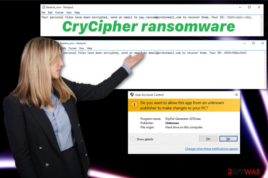 CryCipher ransomware virus