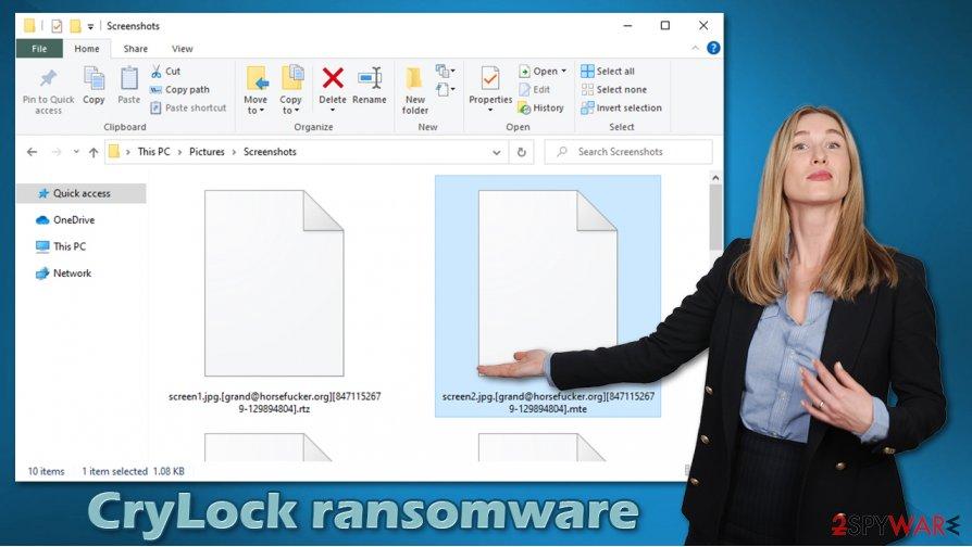 CryLock ransomware virus