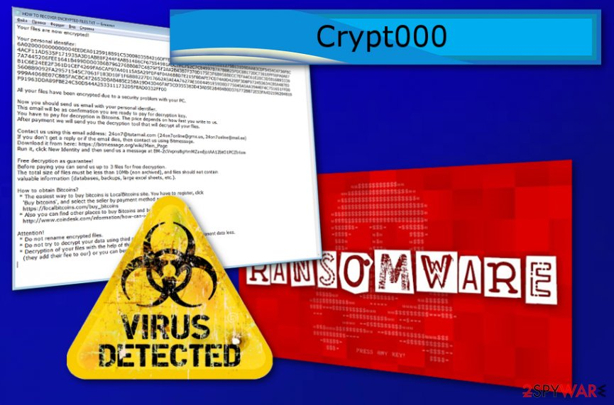 Crypt000 ransomware