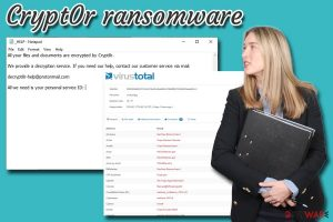 Crypt0r ransomware