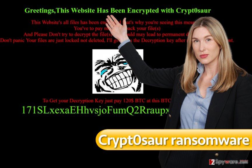 Crypt0saur virus