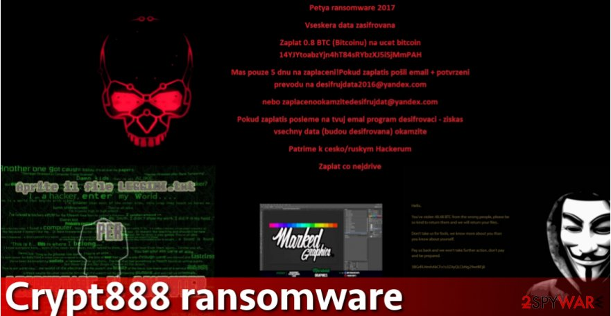 Crypt888 virus