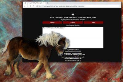 Pony ransomware