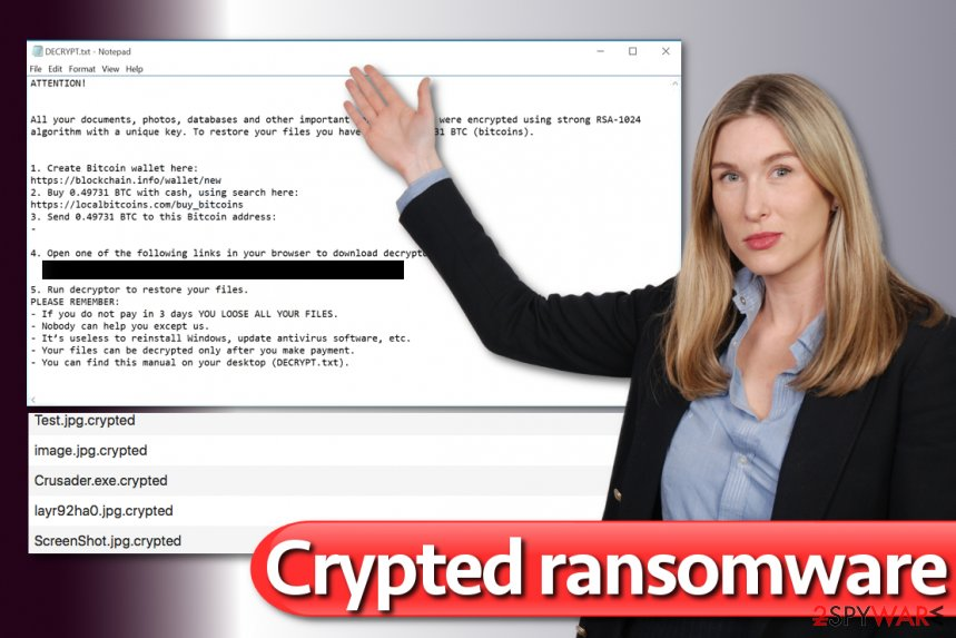 Crypted ransomware